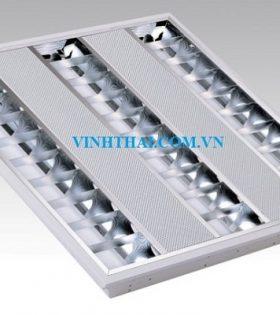 Máng đèn LED - Máng đèn âm trần T5 Lezza 3x0.6