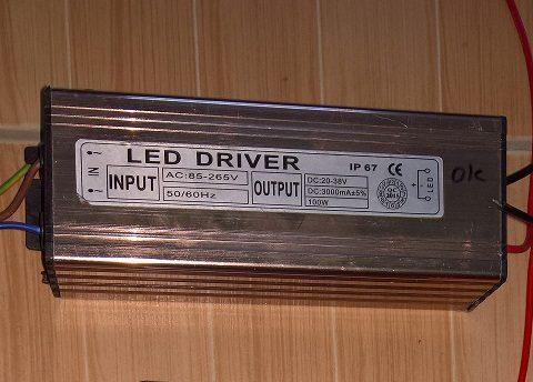 Nguồn 100W Vĩnh Thái - Chấn lưu đèn LED 100W