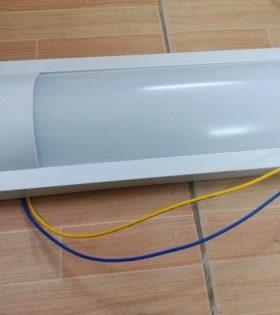 Máng đèn LED siêu mỏng 36w - Đèn tuýp LED bán nguyệt 36W
