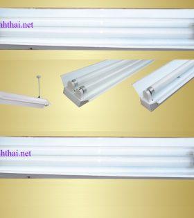 Máng đèn tuýp LED đơn- Máng đèn học đường Vĩnh Thái 1200mm