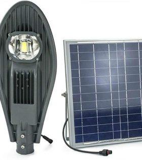 Đèn đường LED Năng lượng mặt trời 30W Lezza