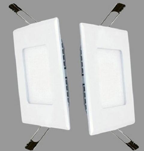 Đèn Led Downlight siêu mỏng vuông 6w - đèn âm trần 6W siêu mỏng