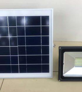 Đèn pha led năng lượng mặt trời Lezza 40W