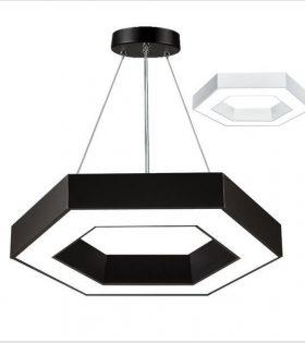 Đèn thả trang trí phòng ăn hình lục giác Led Pendant Lighting