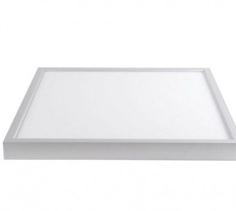 Máng âm trần LED 600x600 mm nắp mica - Đèn LED Panel âm trần 600x600 m lắp bóng tuýp