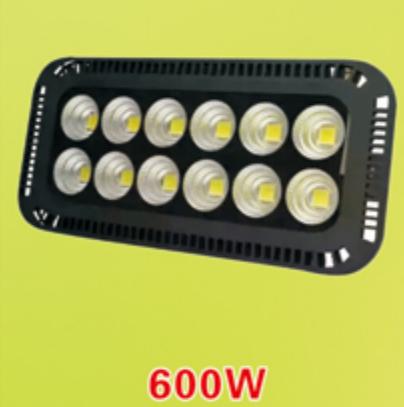 Đèn pha led chiếu sâu 600W - Đèn chiếu sân bóng - đèn chiếu sân vận động