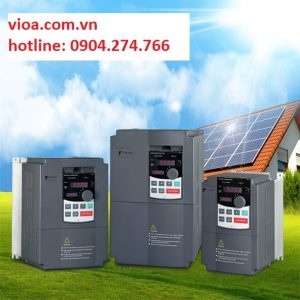 Biến tần năng lượng mặt trời dành cho bơm