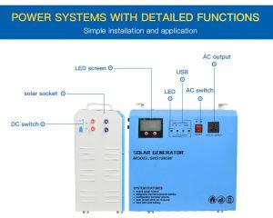 chức năng máy phát điện năng lượng mặt trời 800W