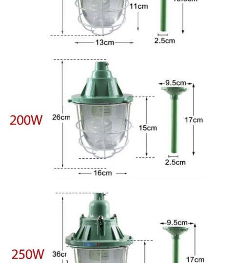 Đèn chống cháy nổ EX200W -LEZZA