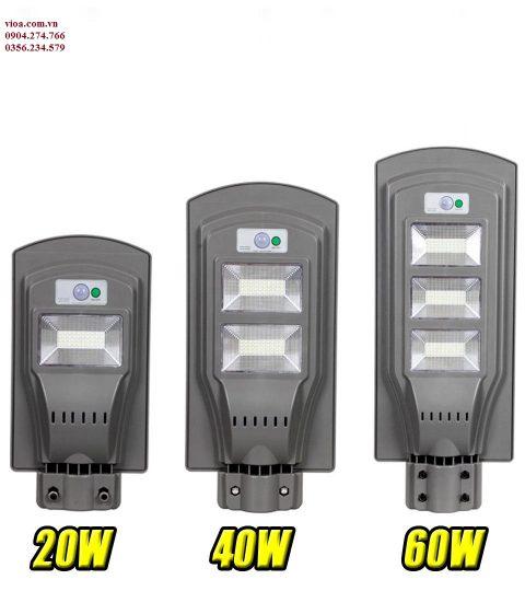 Đèn led năng lượng mặt trời 20w tấm pin liền