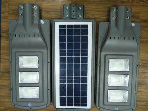đèn led năng lượng mặt trời 60w tấm pin liền