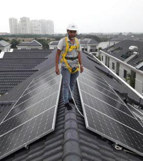 Hệ thống điện năng lượng mặt trời 5kw hòa lưới điện